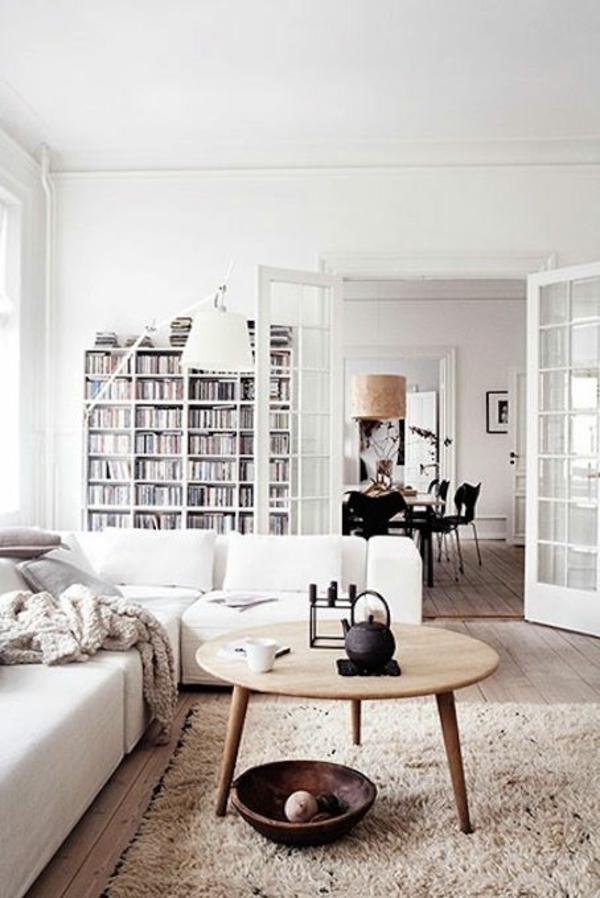 Skandinavische Mbel im Wohnzimmer  inspirierende Einrichtungsideen