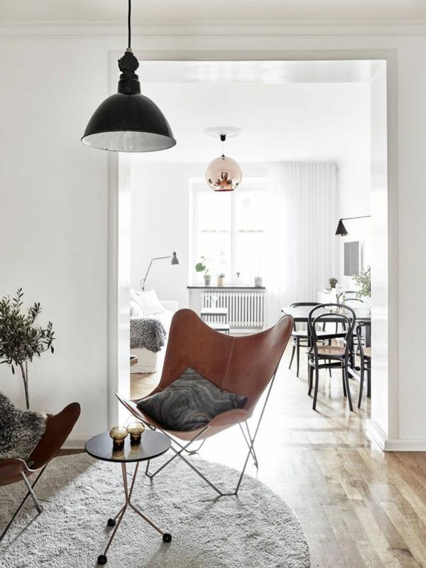 Skandinavische Mbel im Wohnzimmer  inspirierende