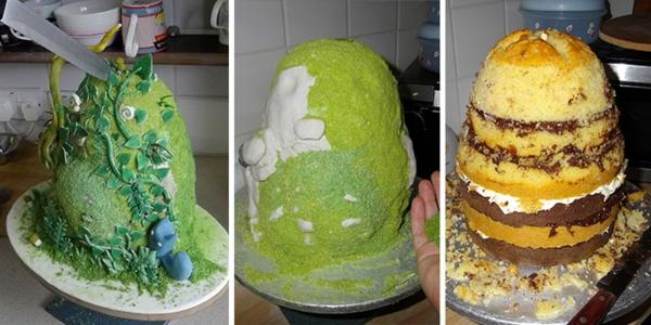 Torte dekorieren  online Wettbewerb fr ausgefallene Torten
