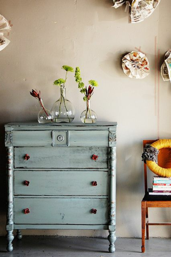 Vintage Look Mbel als Akzent in Ihrer modernen Wohnung