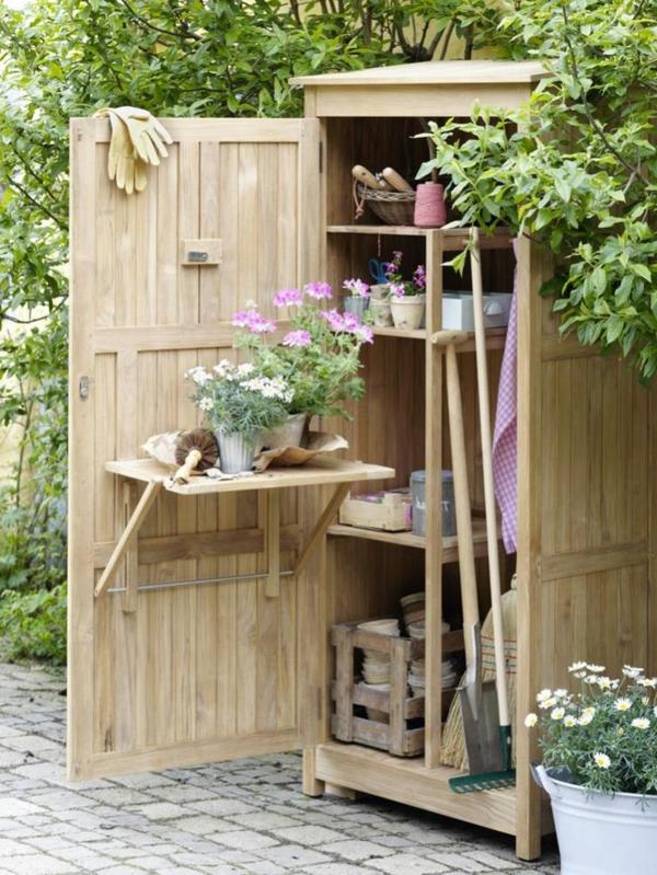 Gartenschrank  eine praktische Bereicherung Ihres Gartens