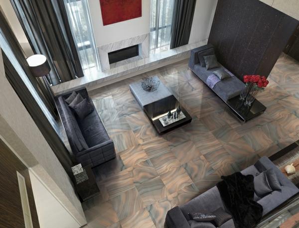 Wohnzimmer Fliesen Beispiele Warum Sie Den Wohnzimmerboden Mit ... Fliesenboden Modern Wohnzimmer