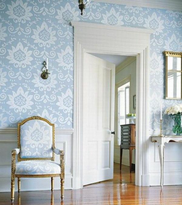 Barock Tapete Stil aus alten Zeiten in zeitgenssischer Form