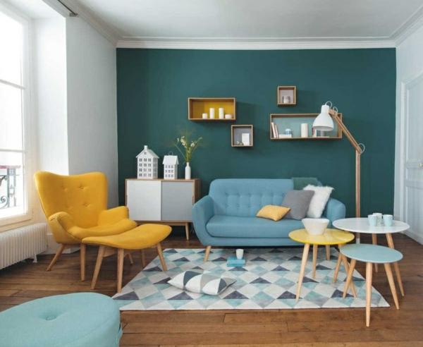 wohnzimmer grun im wohnzimmer beispiele farbgestaltung l   sichtschutz - Wohnzimmer Farben Beispiele Grun