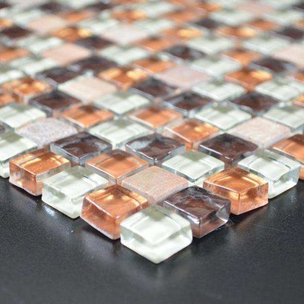Kchenrckwand Ideen  Mosaikfliesen in der Kche