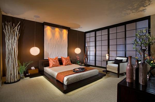 schlafzimmer asiatisch zen schlafzimmer entspannt l » terrassenholz, Badezimmer