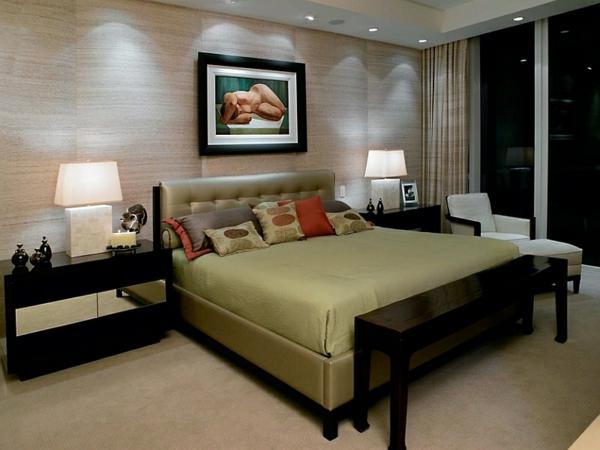 Schlafzimmer Rustikal Einrichten Schlafzimmer Japanisch Einrichten ... Wohnzimmer Asiatisch Einrichten