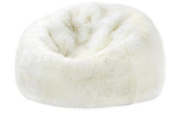 White Bean Bag Chair