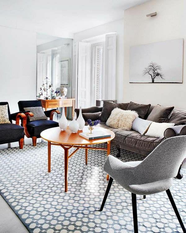 wohnzimmer ideen retro - boisholz - Einrichtungsideen Wohnzimmer Retro