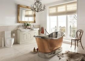 Stilvolle Badeinrichtung   moderne Interpretation der ...
