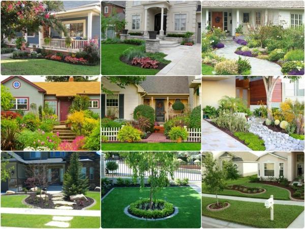 Kleinen Vorgarten gestalten  25 inspirierende Beispiele