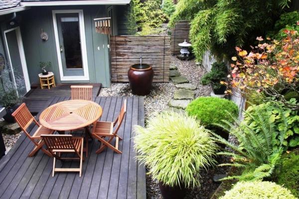 garten ideen kleine garten modern gestalten - boisholz, Garten und erstellen