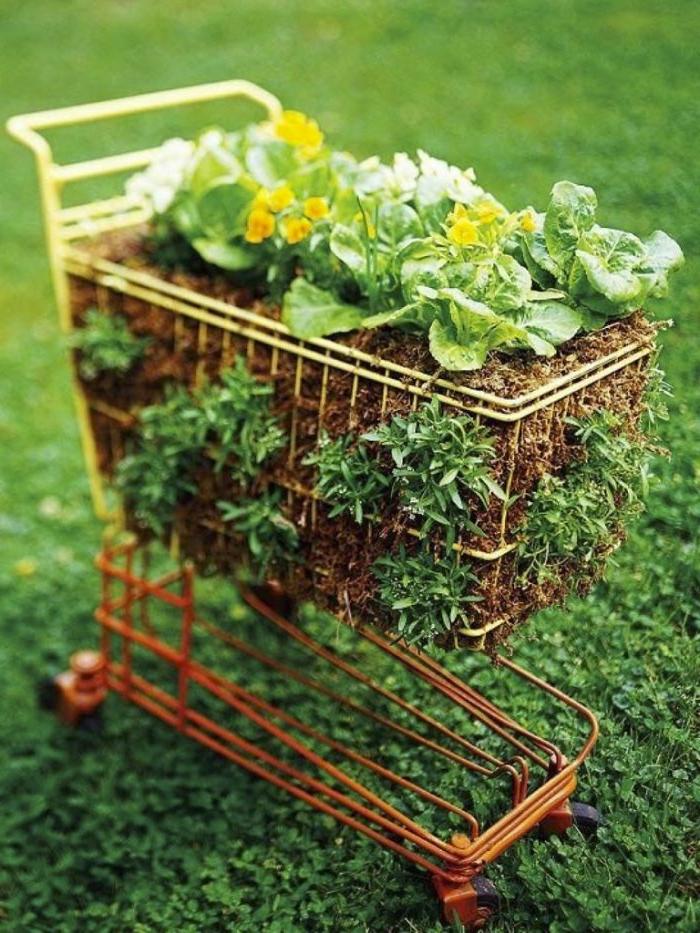Gartenideen zum Selbermachen 15 inspirierende Upcycling