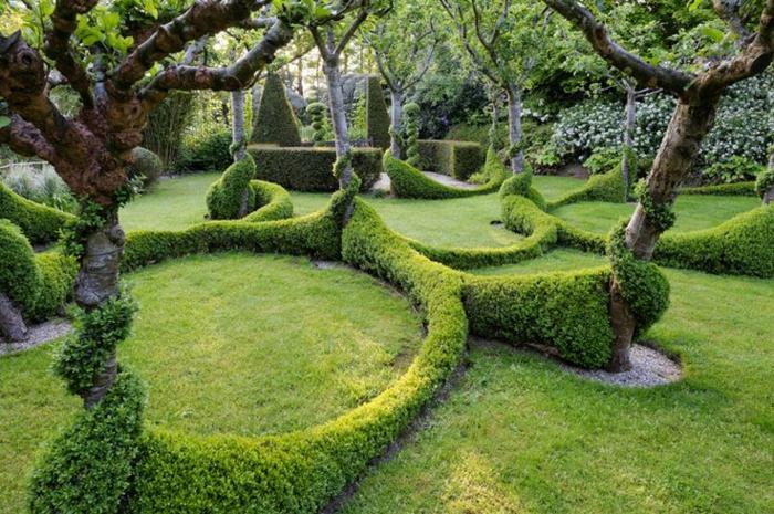 garten gestaltung kreativ modern und schlicht - boisholz, Garten und Bauten