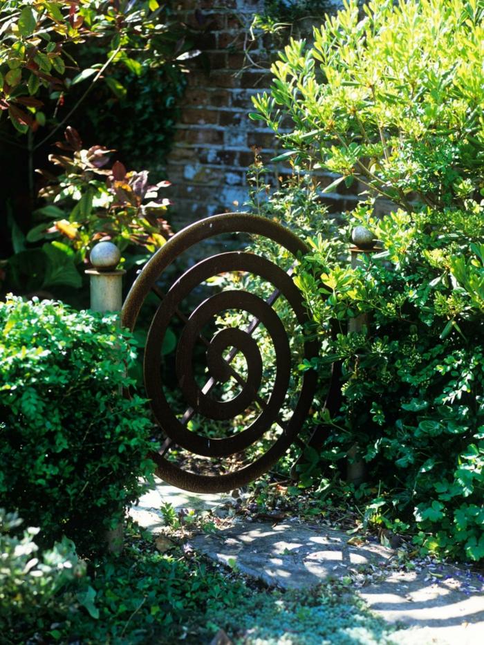 26 Gartentor Designs die den Eintritt in den Garten