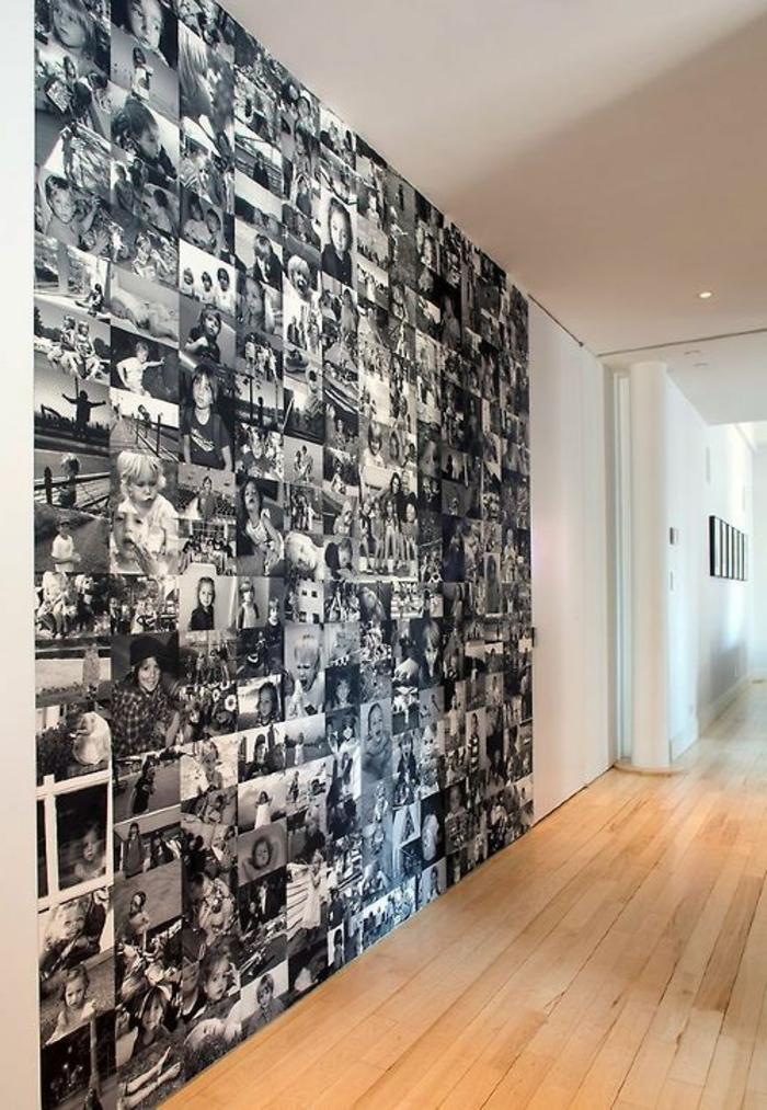 Kreative Wandgestaltung sorgt fr groartige Erscheinung im Raum
