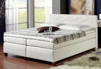 Das Boxspringbett -modernes Bett, welches Schick und ...