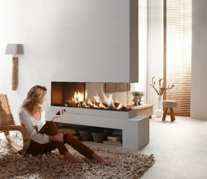 20 moderne Kamine die dem Ambiente Wrme und Stil verleihen