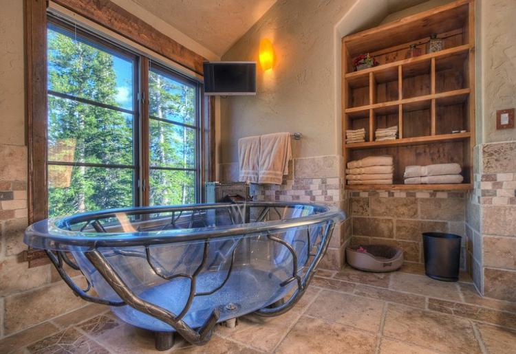 badmobel holz selber bauen - boisholz - Badewanne Rustikal