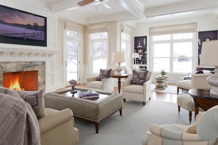 Teppich reinigen  Tipps wie man den Wohnzimmerteppich