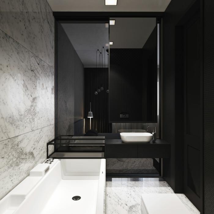 Schwarz Weiß Badezimmer badezimmer schwarz weiß   wohnzimmer grundriss ideen