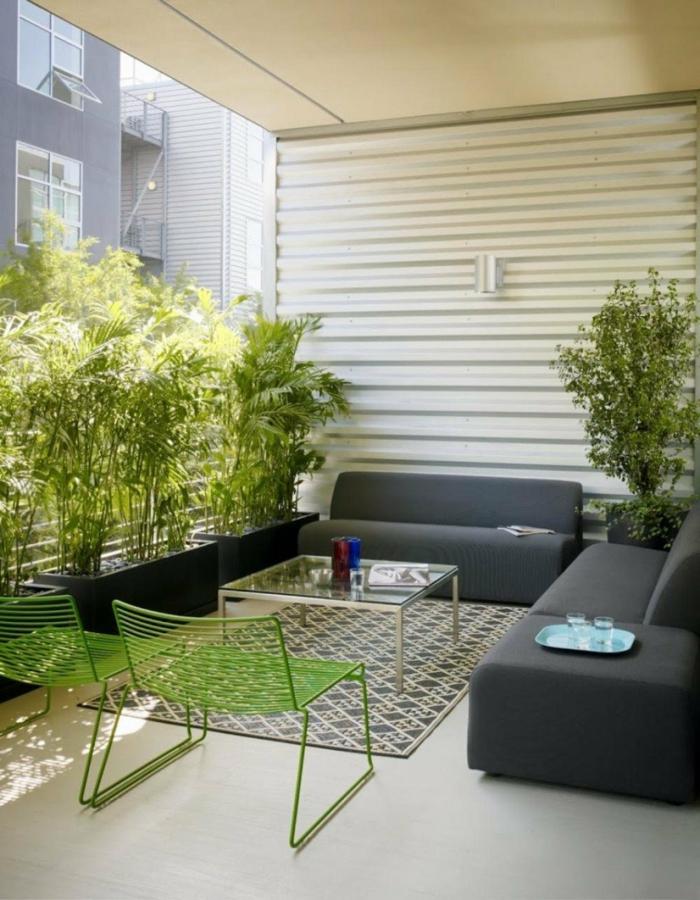 Schne Terrassengestaltung  Den Auenbereich zur Geltung