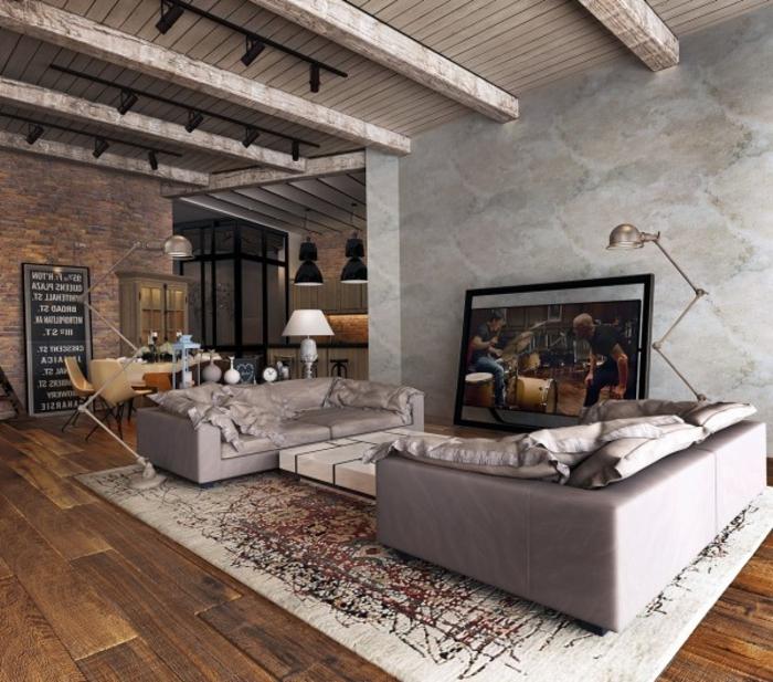 design wohnen im landhausstil wohnzimmer inspirierende bilder ... - Landhausstil Wohnzimmer Ideen