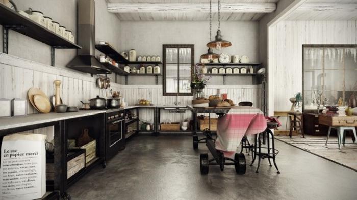 Wohnen im Landhausstil modernes Haus mit rustikalem Charme