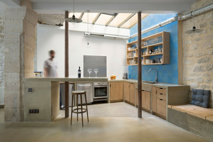 Wohnung einrichten Ideen  Wie gestaltet man kleine Rume ohne Fenster