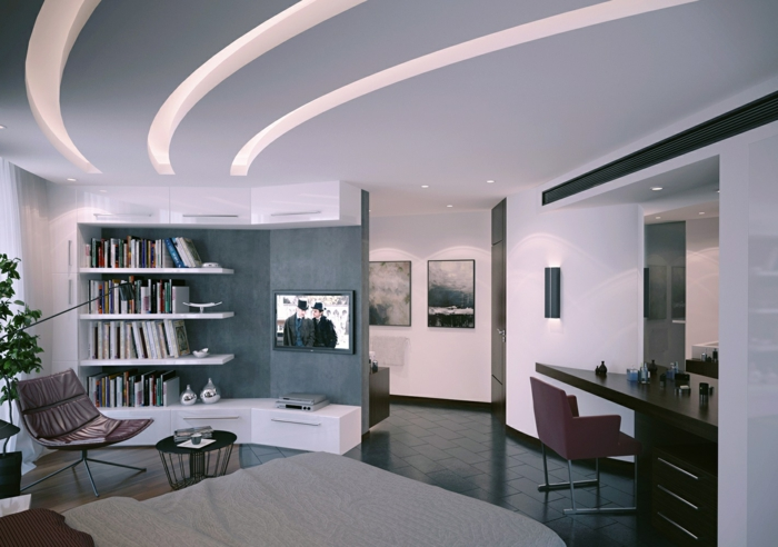 Abgehängte Decke Beleuchtung- ein Trend in der Deckenmontage