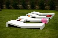 Liegestuhl - Luxus pur und vollkommene Entspannung