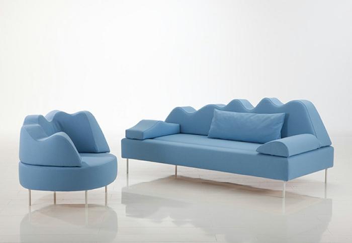 Ausgefallene Sofas Verleihen Dem Wohnzimmer Eine Startseite Design