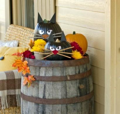 Halloween Deko fr den Auenbereich gnstig basteln