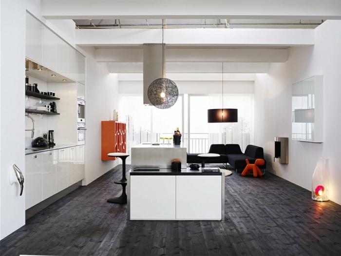 wohnzimmer ideen dunkler boden - boisholz - Wohnzimmer Ideen Dunkle Mobel