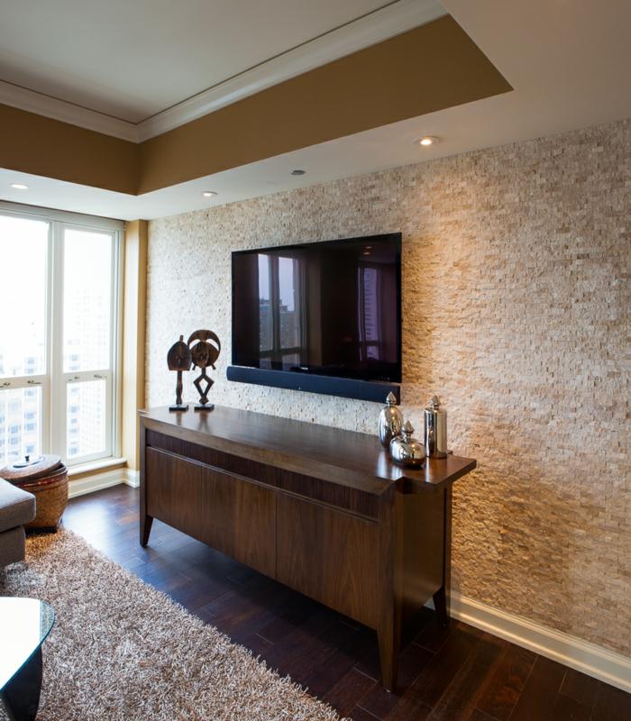 wandfliesen steinoptik wohnzimmer – abomaheber, Wohnzimmer
