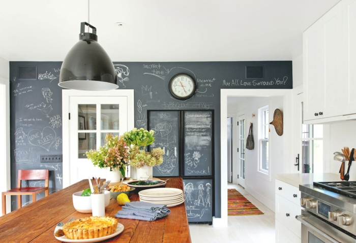 Wandtafel in Kche  Warum gestalten Sie Ihre Kchenwnde