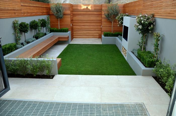 Kleiner Garten Ideen Gartenideen Gartengestaltungsideen Glas ... Ideen Fur Den Bodenbelag Im Garten