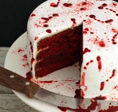 Halloween Kuchen  Achtung ein leckerer Vampiralarm