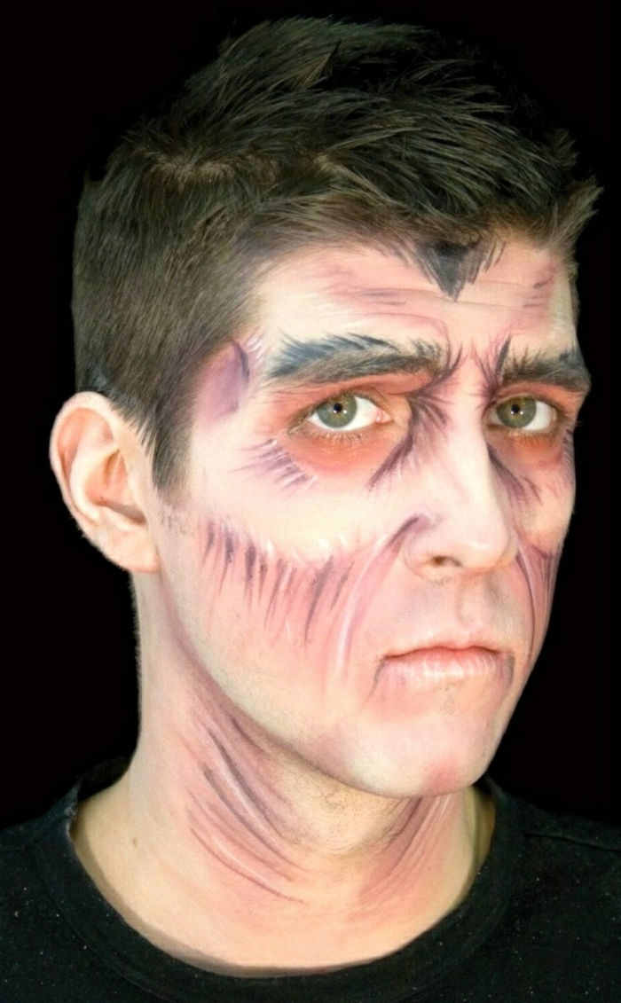 Halloween Schminktipps Manner 25 Halloween Makeup Ideas For Men