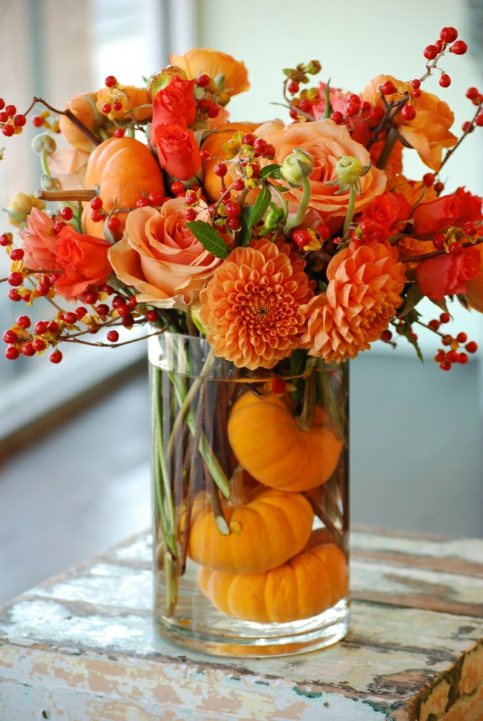 Dekoideen Herbst  Bringen Sie den Herbst nach Hause