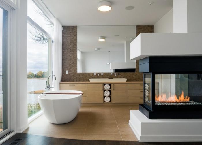Modernes Kamin Design fr Ihr stilvolles Zuhause