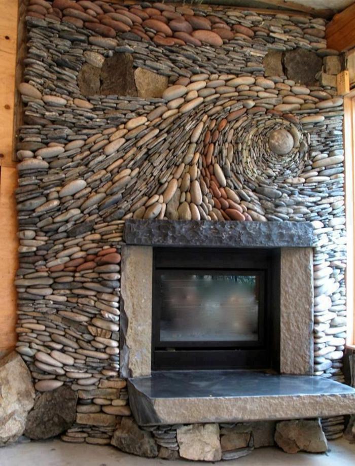 Wohnzimmer Ideen Steinwand | Haus Design Ideen, Deko Ideen