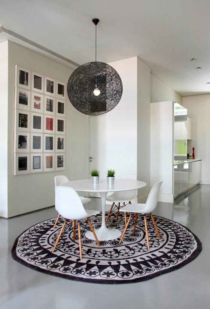 30 runde Teppiche und Beispiele wie man den ZimmerLook