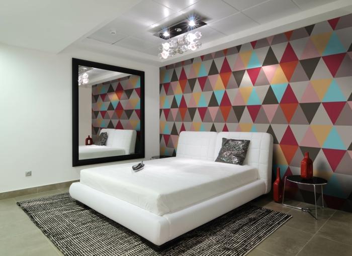 Schlafzimmer Tapeten Ideen  Wie Wandtapeten den SchlafzimmerLook beeinflussen