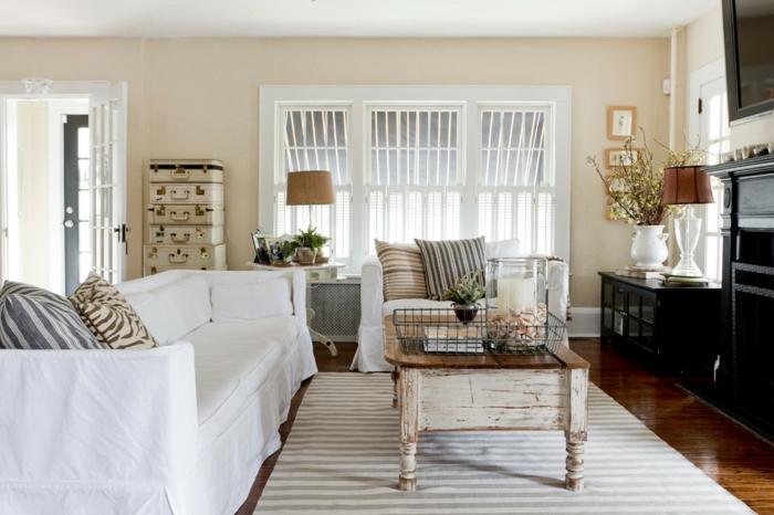 wohnzimmer ideen vintage - boisholz - Wohnzimmer Ideen Vintage