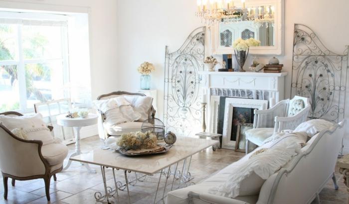 shabby chic wohnzimmer romantische einrichtungen shabby chic deko