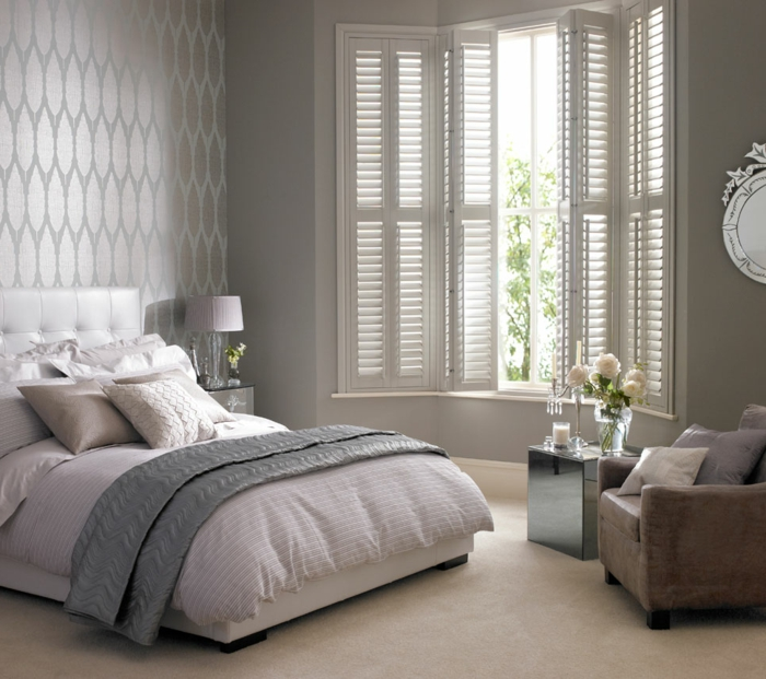 Ideen Für Schlafzimmer Tapeten | Fototapete Fototapeten ...