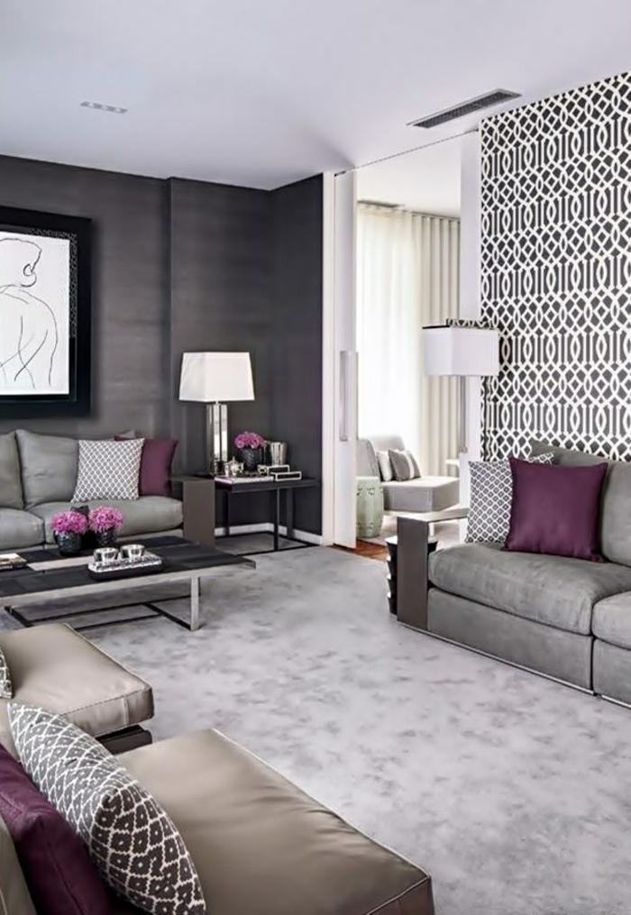 Tapeten Idee Wohnzimmer Ideen F R Die Wohnraumgestaltung