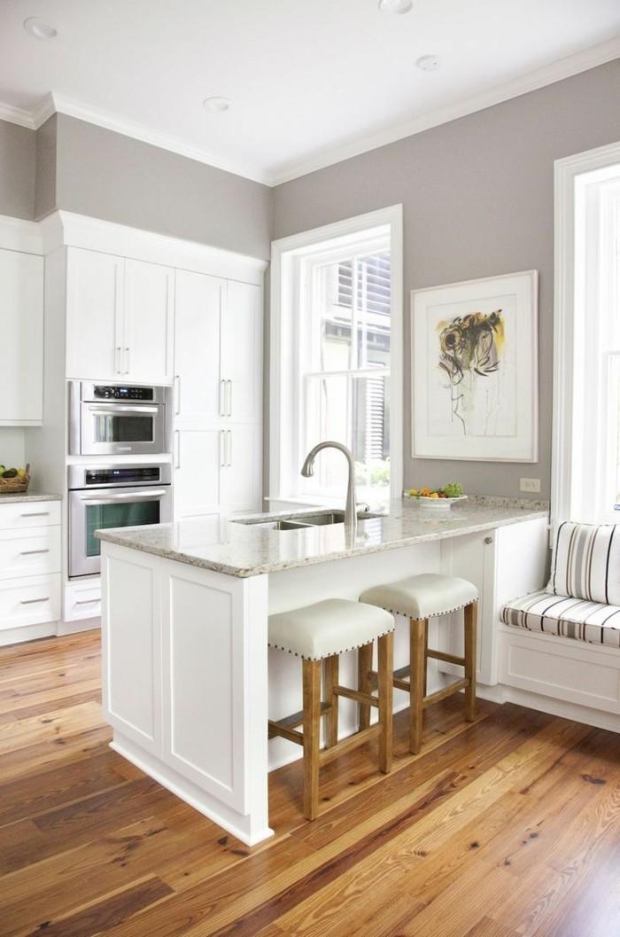 Holz Küchenschrank | 66 Wandgestaltung Küche Ideen - Wie ...