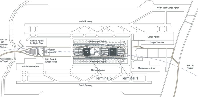 Flughafen Taiwan Taoyuan: Die Erneuerung des größten